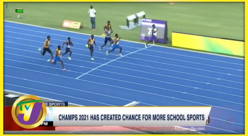 Champs 2021 Has Created Chance for More School Sports - August 25 2021 1