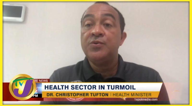 Jamaica's Health Sector in Turmoil   TVJ News - August 25 2021 1