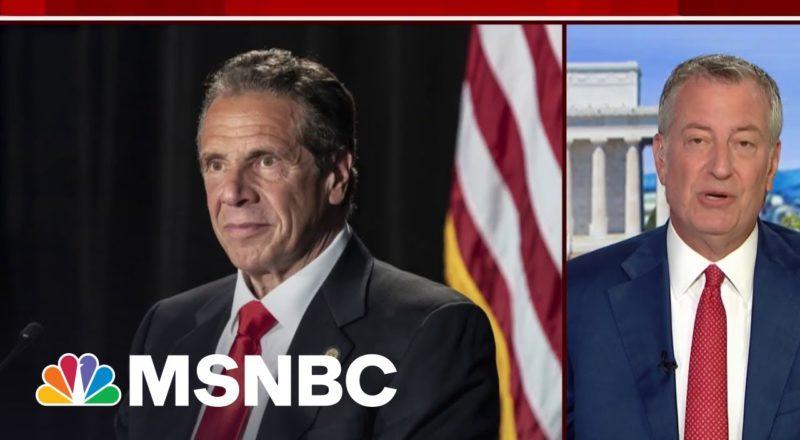 NYC Mayor Bill de Blasio Calls On Gov. Andrew Cuomo To Resign 1