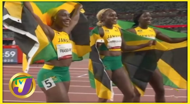 Jamaica's Sprint Queens   TVJ Sports Commentary - August 26 2021 1