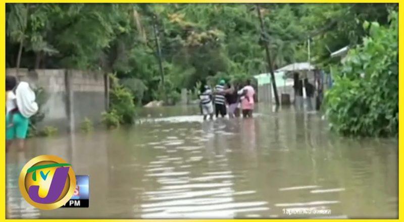 Halse Hall, Clarendon Flooded | TVJ News - August 26 2021 1