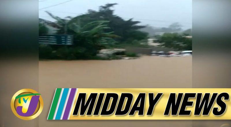 Tropical Storm Ida | Flash Flood Warning for Jamaica | TVJ Midday News - August 27 2021 1