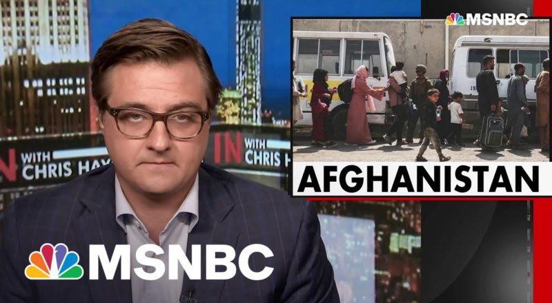 Chris Hayes On The GOP Response To The Afghanistan Withdrawal 1
