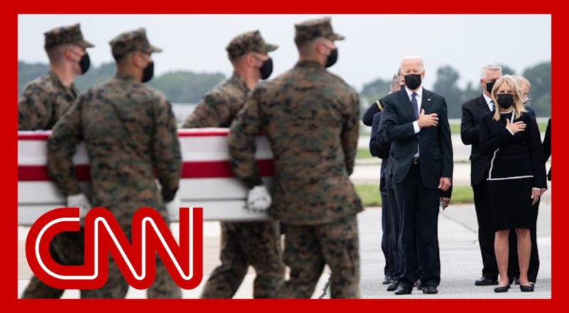 Biden attends dignified transfer of the service members killed in Kabul 1