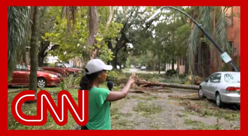 Here's what a part of New Orleans looks like after Hurricane Ida 1