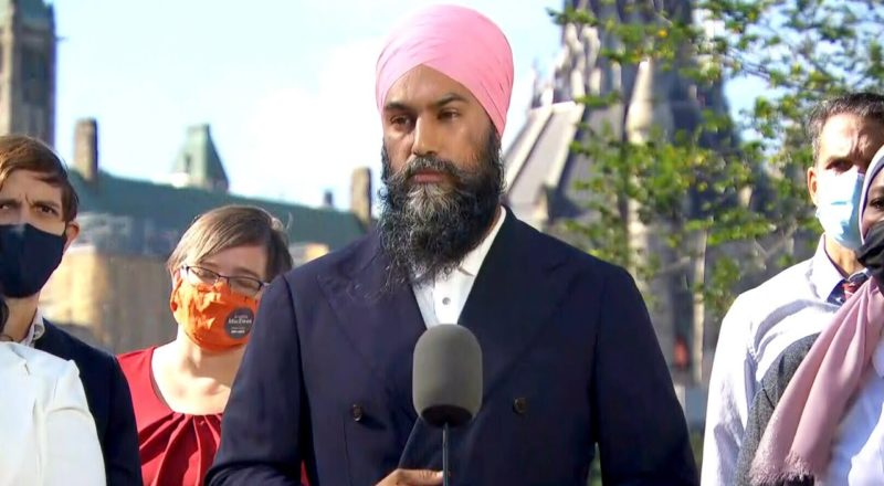 Singh says NDP will close loopholes benefiting billionaires, multi-national corporations 1