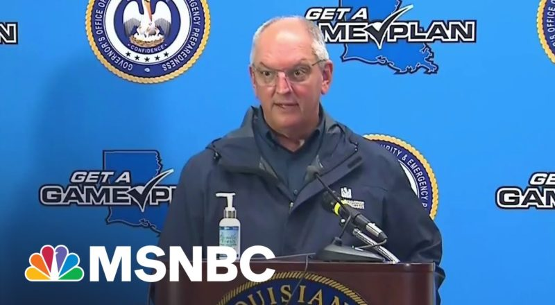 Louisiana Governor: Be Prepared To Shelter In Place 72 Hours 1