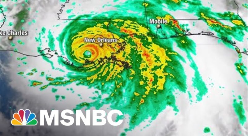National Hurricane Center Says Ida 'No Where Close' To Over 1
