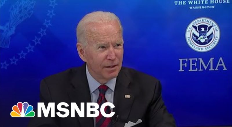 Biden: We'll Give Those Impacted By Ida 'Any Help You're Going To Need' 1