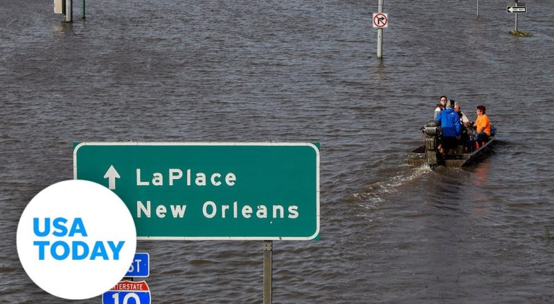 Before and after video shows parts of Louisiana hit by Hurricane Ida | USA TODAY 1
