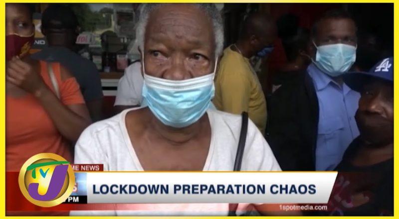 Lockdown Preparation Chaos | TVJ News - August 27 2021 1