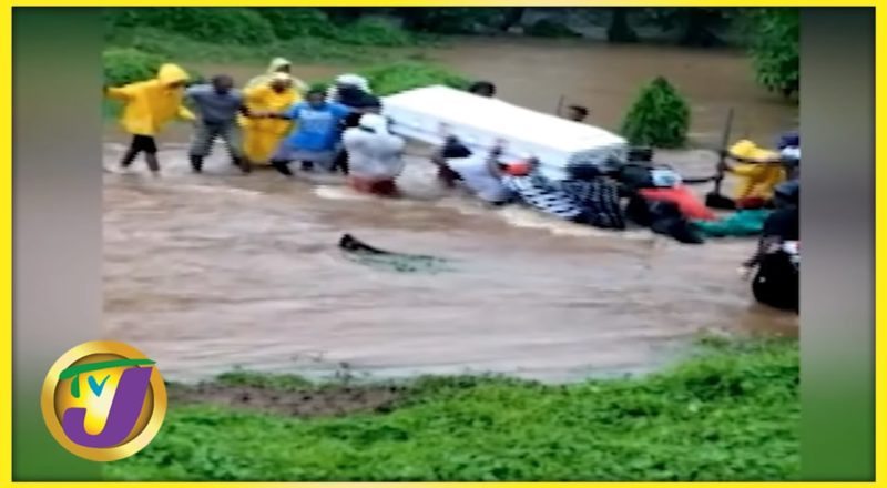 Tropical Storm Ida | Sections of Clarendon Still Flooded - August 27 2021 1