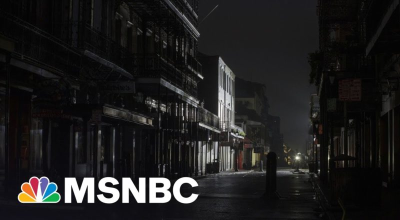 New Orleans Will Be In The Dark For Days After Hurricane Ida 5