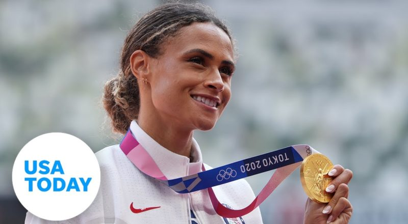 Sydney McLaughlin breaks own world record; Beach volleyball semis and USWNT on Thursday | USA TODAY 1
