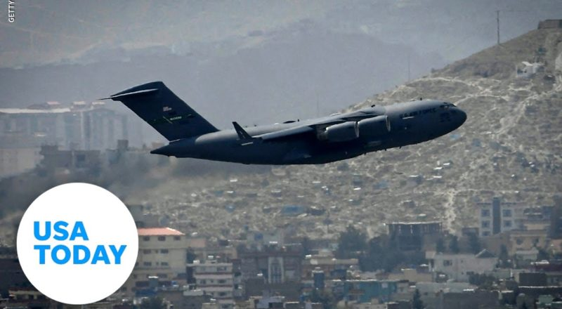 Last U.S. military plane leaves Afghanistan | USA TODAY 1