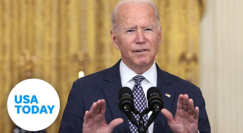 President Joe Biden delivers remarks on ending the war in Afghanistan   USA TODAY 1