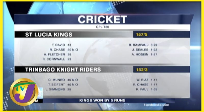 CPL Cricket Matches - August 29 2021 1