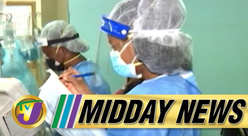FEAR - 54% Covid Positivity Rate amid Oxygen Shortage in Jamaica | TVJ Midday News - August 29 2021 1