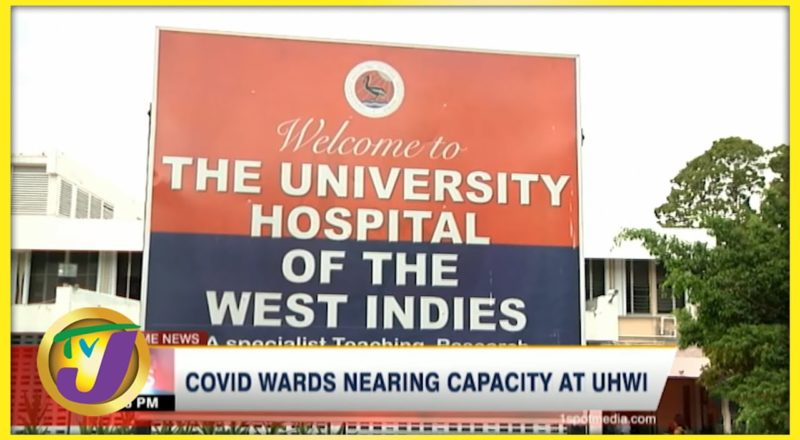 Covid Wards Nearing Capacity at UHWI in Jamaica | TVJ News - August 3 2021 1