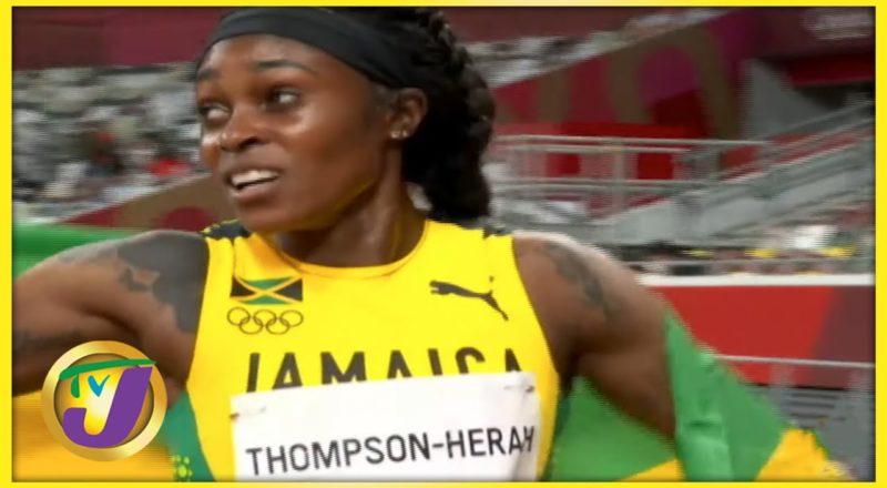 Elaine Thompson-Herah Ranking   TVJ Sports Commentary - August 3 2021 1