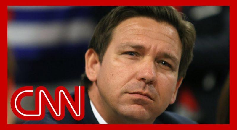 Florida Gov. DeSantis mocks Biden as Covid-19 rages in his state 1