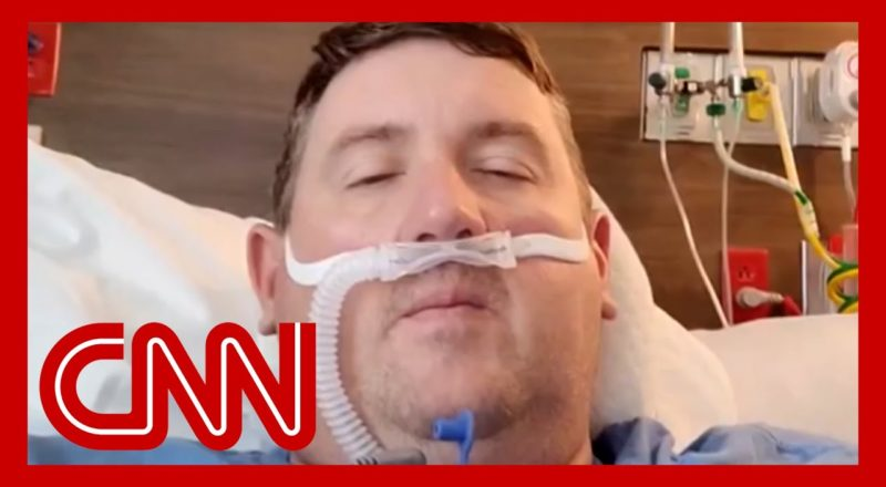 Unvaccinated man in ICU shares heartbreaking Covid-19 video diary 1