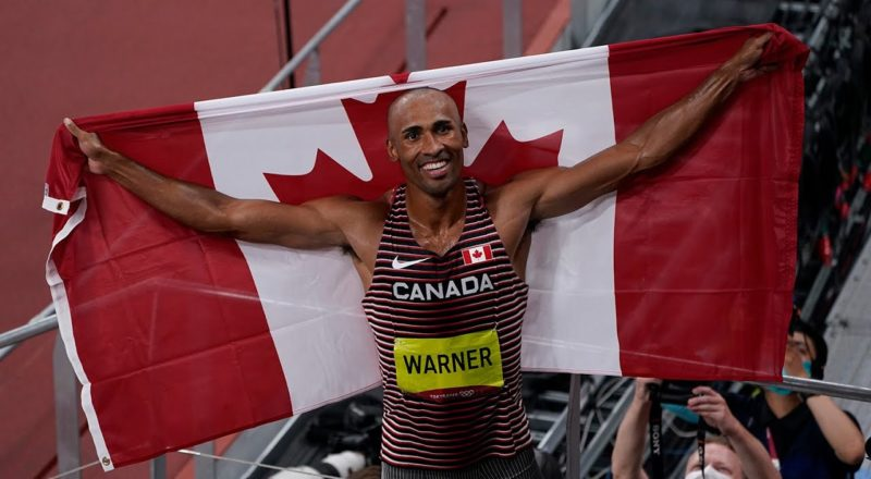 Damian Warner's family reacts to his historic gold medal win in decathlon 4