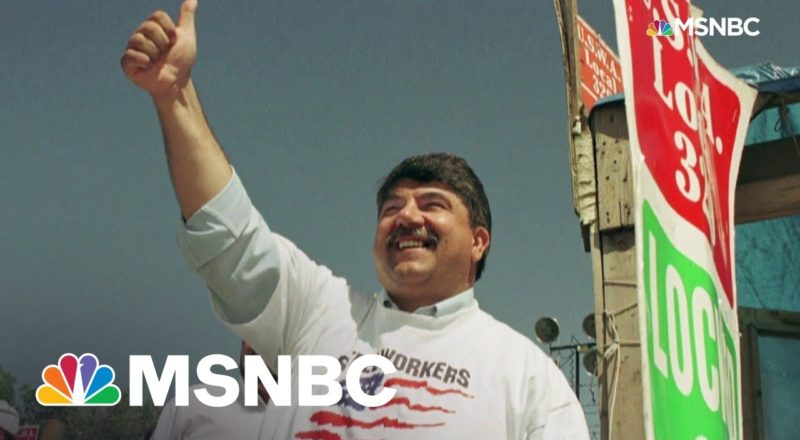 Chris Hayes Honors Union Leader Richard Trumka Who Passed Away At 72 1