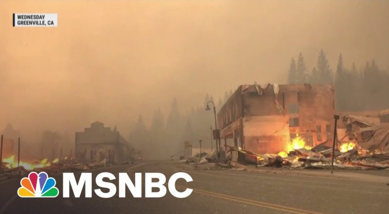 Dixie Fire Now Third-Largest In California History 1