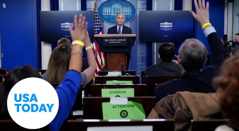 White House COVID-19 Response Team holds press briefing   USA TODAY 3
