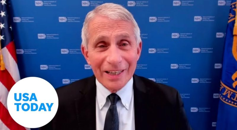 Dr. Anthony Fauci: Vaccine prevents COVID-19 from mutating | USA TODAY 8
