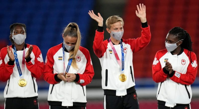 Canada's Quinn becomes first openly trans, non-binary athlete to win Olympic medal 4