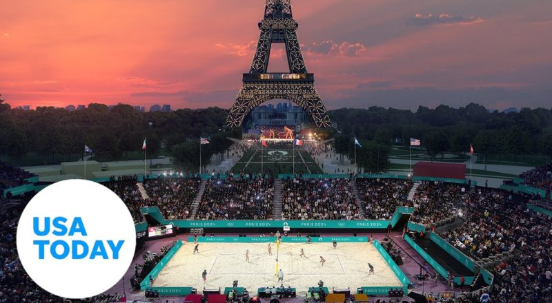 Paris 2024 Olympics: Parisian landmarks will serve as competition venues | USA TODAY 1