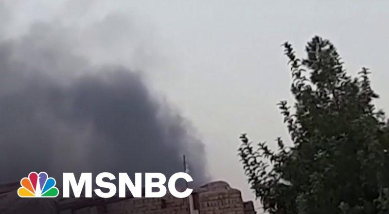 Taliban Seizes Afghan Cities As U.S. Exits   MSNBC 1