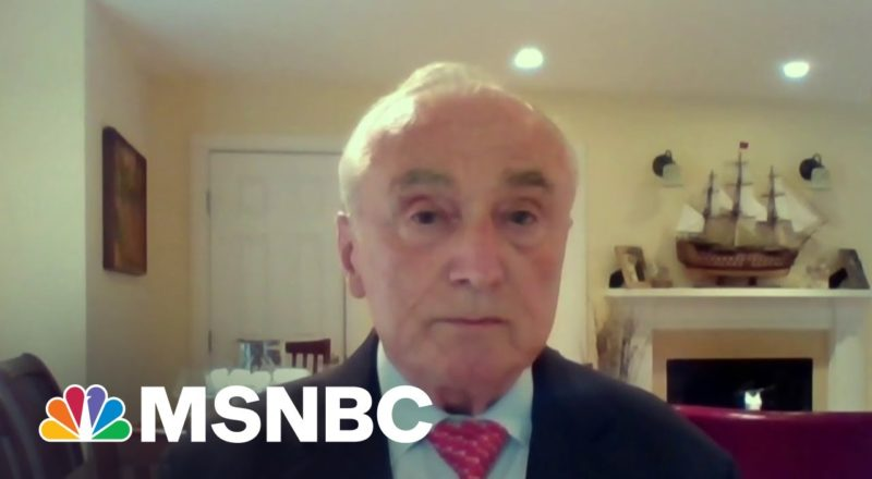 Former NYPD Commissioner: We Were Very Close To Losing Our Democracy On Jan 6th 1