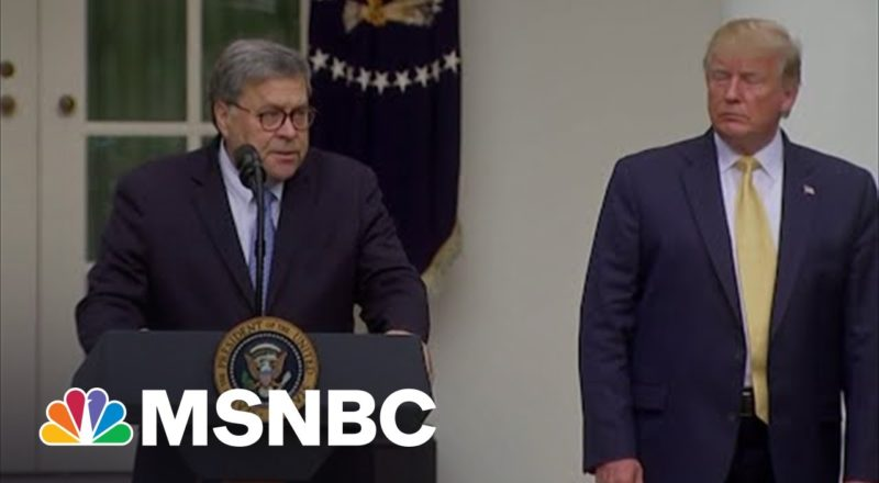 Trump's Inside Job Busted By Barr's Replacement In 2021 Testimony 3