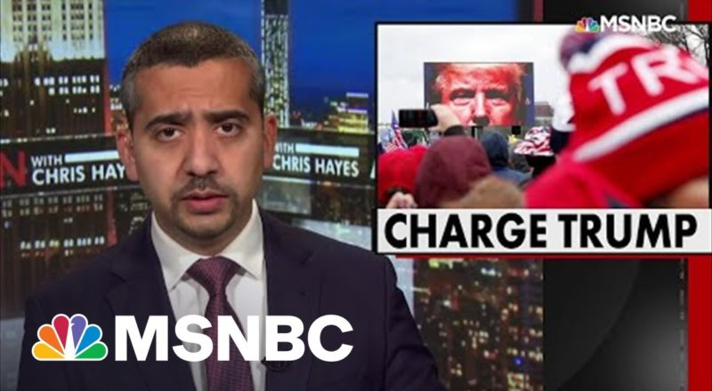 Mehdi: Why Hasn't Trump Been Charged For Attempting To Overturn Election? 1