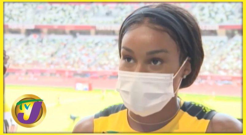 Jamaica Olympics Team 4x100 relay Heats Interview 1