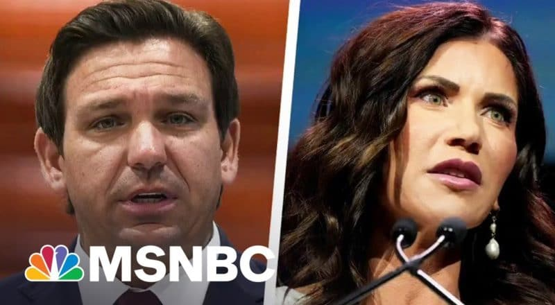 How DeSantis And Noem Are Using Covid Failures As Political Springboards 1