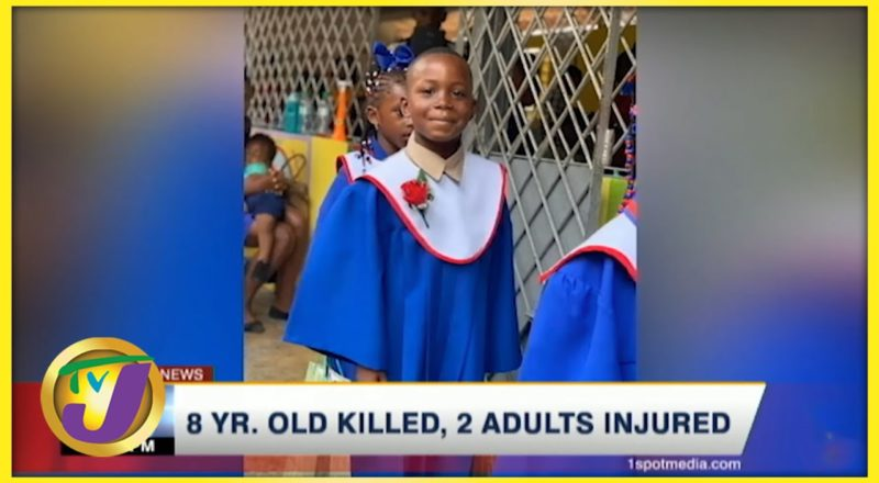 8 Yr. Old Killed, 2 Adults Injured in Clarendon Jamaica   TVJ News - August 8 2021 1