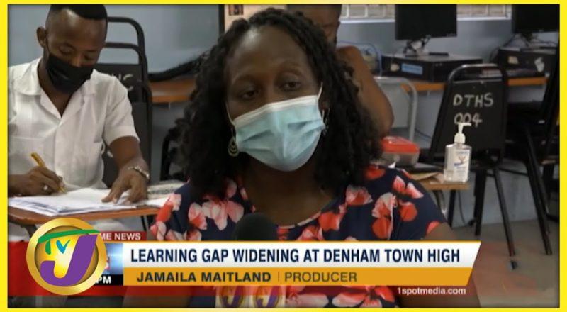 Learning Gap Widening at Denham Town High   TVJ News - August 8 2021 7