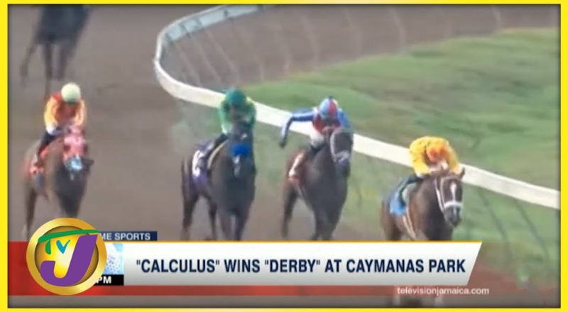 Calculus wins Derby at Caymanas Park - August 7 2021 1