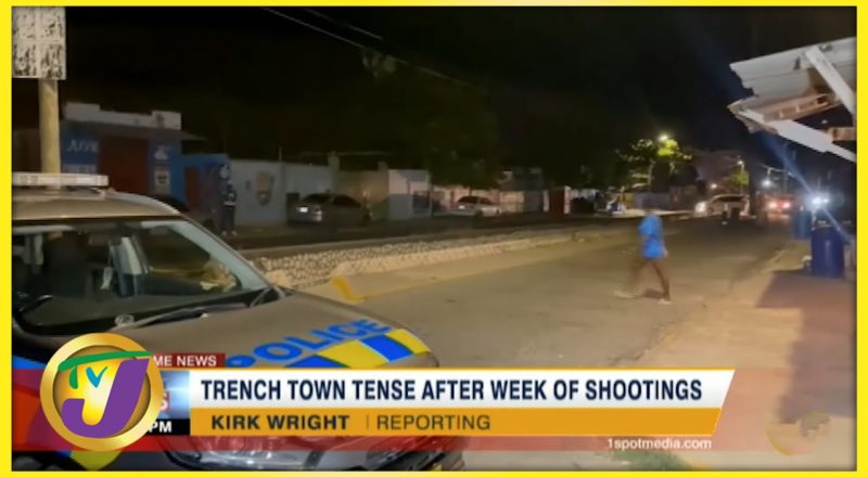 Trench Town Jamaica Tense After Week of Shootings | TVJ News - August 7 2021 1