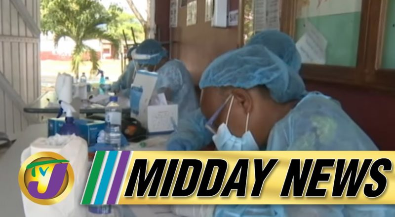 Vendors Fearful | Jamaica on Red Alert | TVJ Midday News - August 9 2021 1