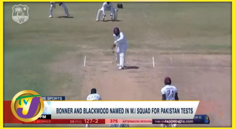 Bonner & Blackwood Named in Windies Squad for Pakistan Test - August 9 2021 1