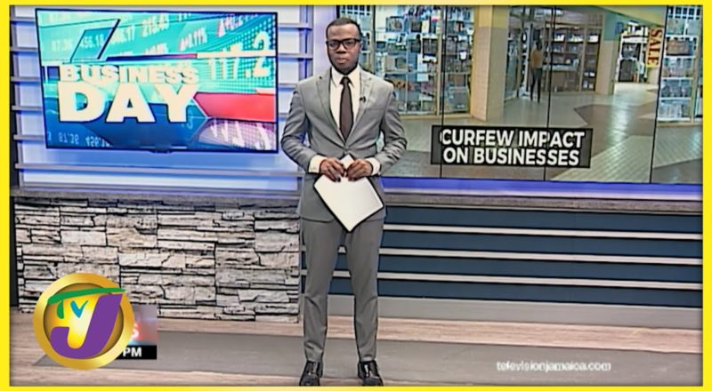 Curfew Impact on Jamaican Businesses | TVJ Business Day - August 10 2021 1