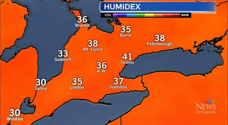 Heat warning: Ont. blanketed by high temperatures, humidity 1
