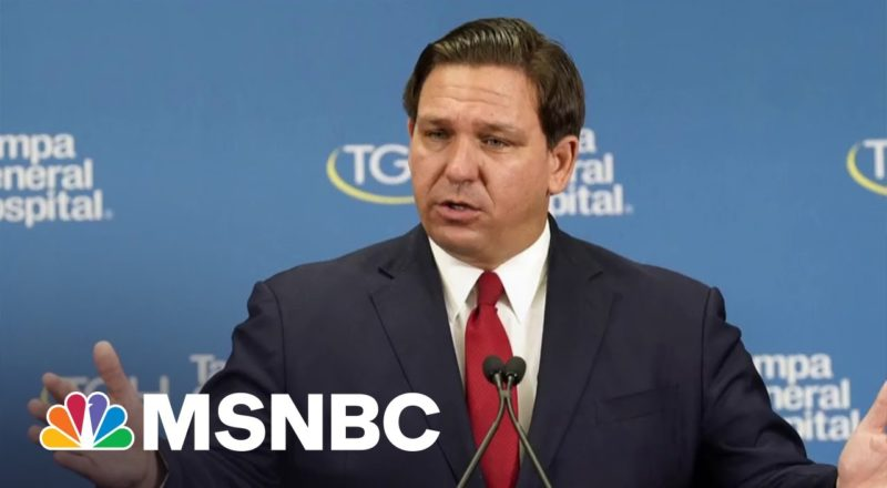 FL Gov. DeSantis Raises Millions From Donors As State Grapples With Covid Surge 1