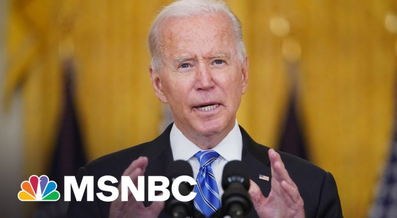 Can Biden Keep Dems Together To Pass His $3.5T Budget Plan? 1