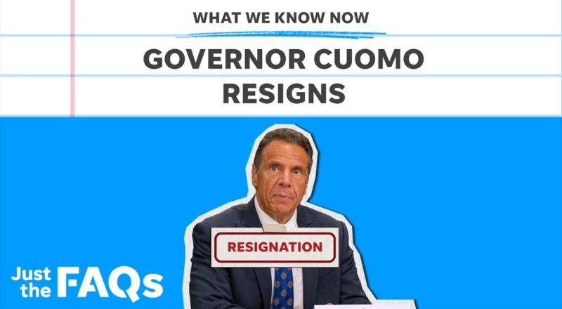 Cuomo resignation: What criminal charges he could face | Just the FAQs 1